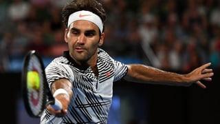 Federer gudogna ses emprim gieu a Melbourne