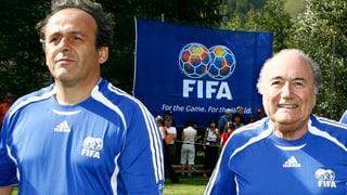Blatter e Platini ston quintar da vegnir exclus per vita duranta