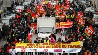 Frankreich startet umstrittene Arbeitsmarktreform