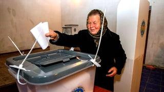 Pro-europäische Parteien führen bei Moldawien-Wahl knapp