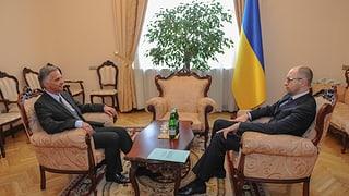 Ukraine: Burkhalter bietet weitere Hilfe der OSZE an