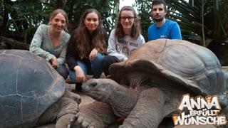«Anna erfüllt Wünsche» hinter den Kulissen des Zoos