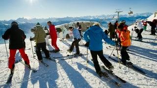 Schweizer Wintersportorte jubeln über den Schnee