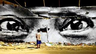 Street-Art-Künstler JR und die Macht von Papier und Kleister