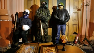 Klitschko fordert Räumung des besetzten Ministeriums