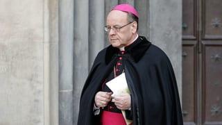 Strafanzeige gegen Bischof Vitus Huonder
