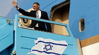 Obamas Israel-Reise ist ein Erfolg