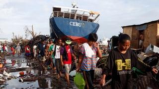«So etwas wie ‹Haiyan› haben wir noch nie gesehen»