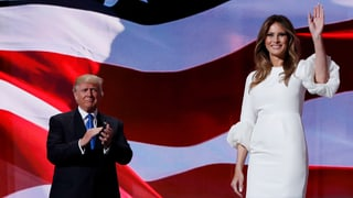 Copy & Paste: Melania Trump macht auf Michelle Obama