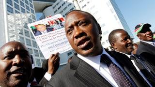 Kenia zeigt Den Haag die kalte Schulter