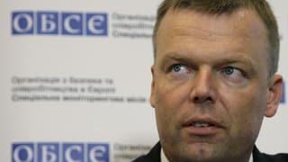 OSZE-Vermittler Hug: «Der Konflikt in der Ostukraine ist lösbar»