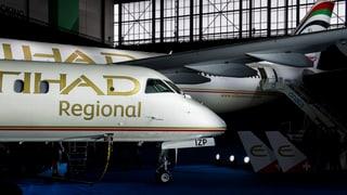 Arabische Airline Etihad wirbelt Schweizer Luftraum auf