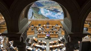Lauber stürzt das Parlament in ein Dilemma