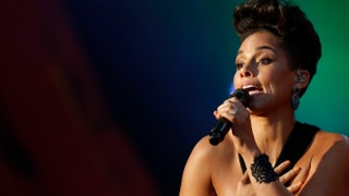Alicia Keys und Stevie Wonder singen im Central Park gegen Armut