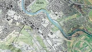 Reise durch die Zeit mit Schweizer Landkarten