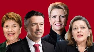 Wer gewinnt morgen die Bundesratswahlen?