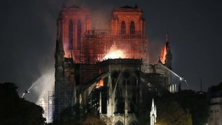 «Wir werden Notre-Dame wieder aufbauen»