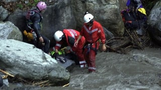 Das Canyoning-Unglück auf dem Saxetbach