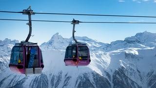 Kanton Wallis unterstützt Bergbahnen mit Millionen