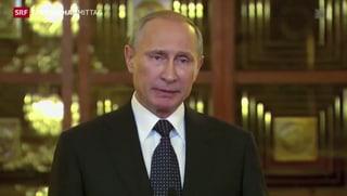Putin: «Die Sanktionen sind ein Bumerang»