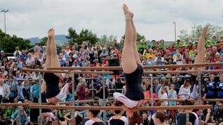 Sport und Spass halten sich die Waage im Fest in Muri