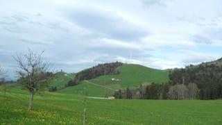 Spatenstich für das grösste Windkraftwerk der Zentralschweiz
