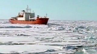 Expedition bleibt im Eis stecken