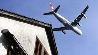Fluglärm-Streit: Süddeutsche profitieren von Zürich