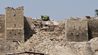 Zitadelle von Aleppo durch Explosion beschädigt
