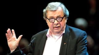 Literaturkritiker Hellmuth Karasek ist tot