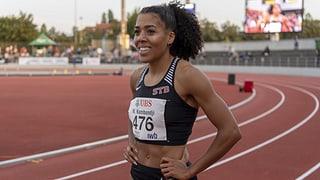 Kambundji sprintet in die Top 10 der Weltrangliste
