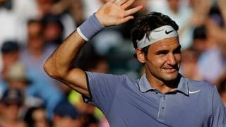 Spätzünder Roger Federer feiert Premiere