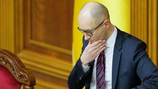 Ukraine: Regierungschef übersteht Misstrauensvotum