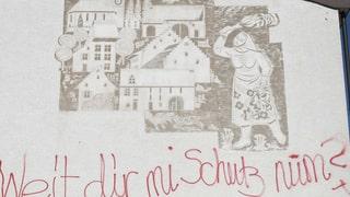 Ormalingen schenkt das Wandbild dem Sohn des Künstlers