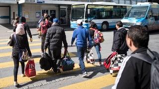Afghanische Flüchtlinge hoffen auf die Schweiz