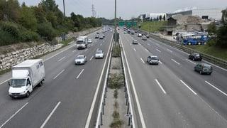 Kleiner Autobahn-Deckel für Weiningen