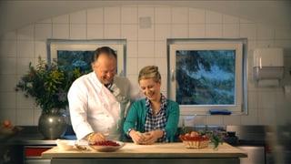 Video «Myriam bei Martin Dalsass, Spitzenkoch und Pionier des Olivenöls » abspielen