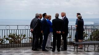 Die US-Delegation sprach im Vorfeld von «robusten» Diskussionen, Europa vom schwierigsten G7-Treffen seit Jahren.
