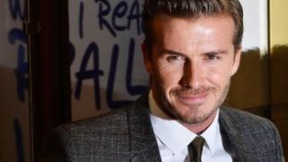 Cook it like Beckham: Der Ex-Fussballer kocht für seine Kinder