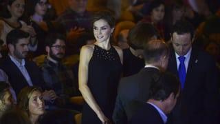 Königin Letizia geht ins Kino – und erhält endlich Applaus