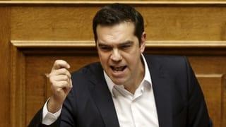 Tsipras: «Griechenland muss die Zähne zusammenbeissen»