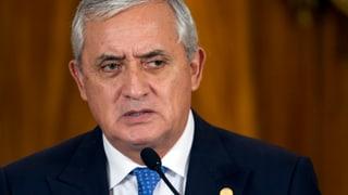 Historisches Urteil in Guatemala: Präsident verliert Immunität