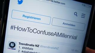Wie man einen Millennial verunsichert – und wie der kontern kann
