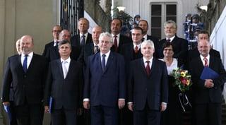Tschechiens neue Regierung steht unter schlechtem Stern