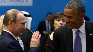 Obama lauda Putin