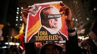 Korruption, Massenproteste, Rücktritte – das grösste Land Lateinamerikas befindet sich in der nächsten politischen Krise.
