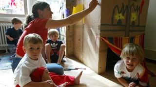 Ja zu Kinderkrippen und Mittagstischen im Aargau