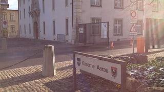 Aarauer Parteien fordern Schliessung der Kaserne