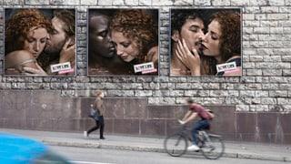 «Partner wechselt. Safer Sex bleibt»