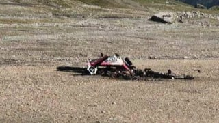 Flugzeug am Piz Segnas abgestürzt